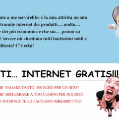 Siti internet GRATIS !!11! (e buone norme per professionisti web)