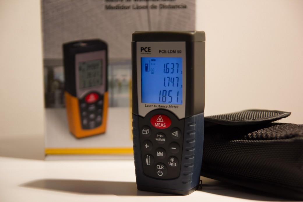 Recensione distanziometro laser PCE-LDM 50 - Alessandro Grechi